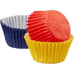 Wilton Mini Baking Cups: Primary Colo