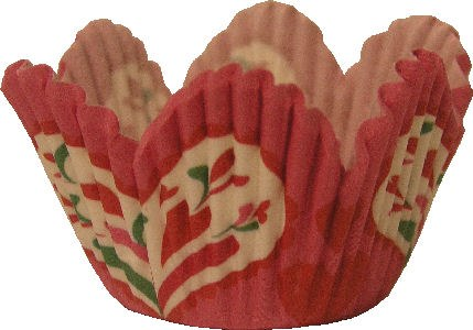 Wilton Mini Baking Cups: Heart Petal