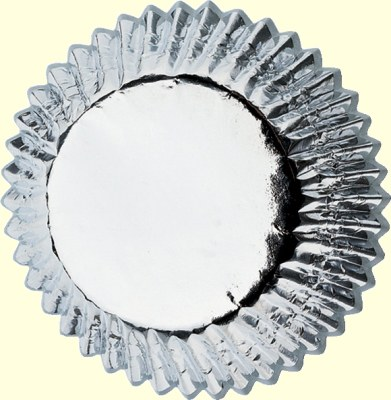 Wilton Silver Foil Baking Cups