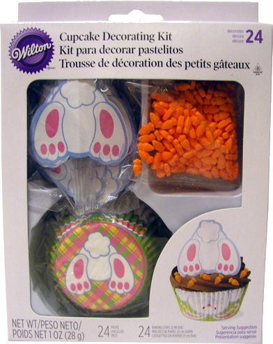 Wilton Bunny Tail Cupcake Deco. Kit
