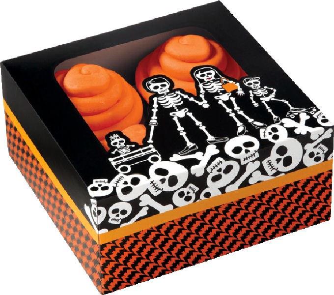 Wilton 4 Cav Cupcake Box: Graves  3/p