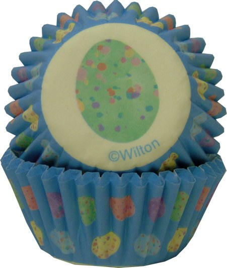 Wilton Mini Baking Cups: Mini Eggs W