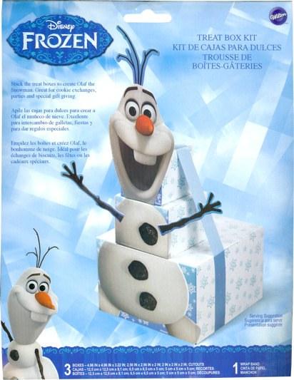 Wilton Frozen Stacking Olaf Treat Box