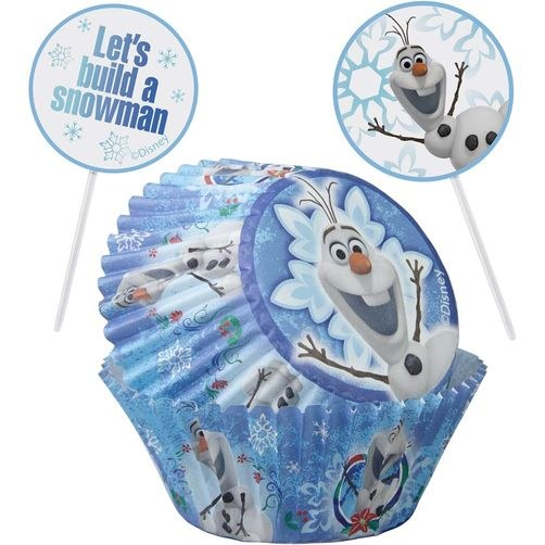 Wilton Frozen Olaf Cupcake Kit