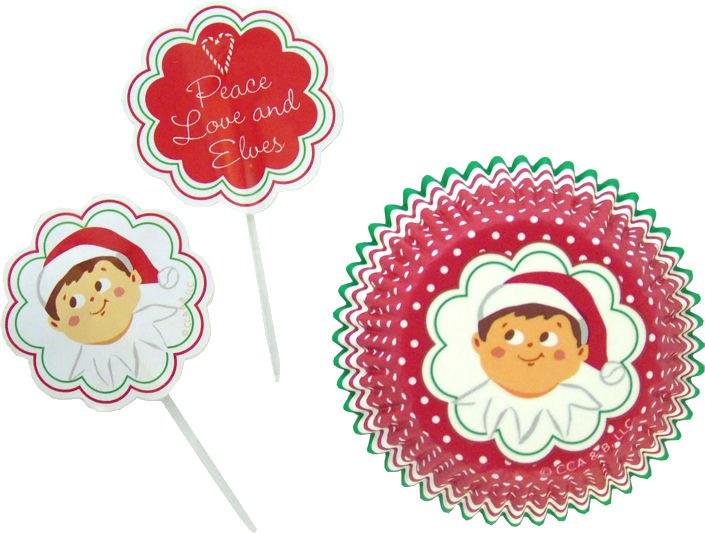 Wilton Elf On The Shelf Cupcake Combo