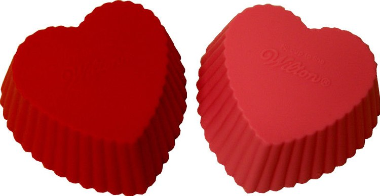 Wilton Heart Silicone Baking Cup