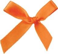 Orange Bows Pkg Of 10