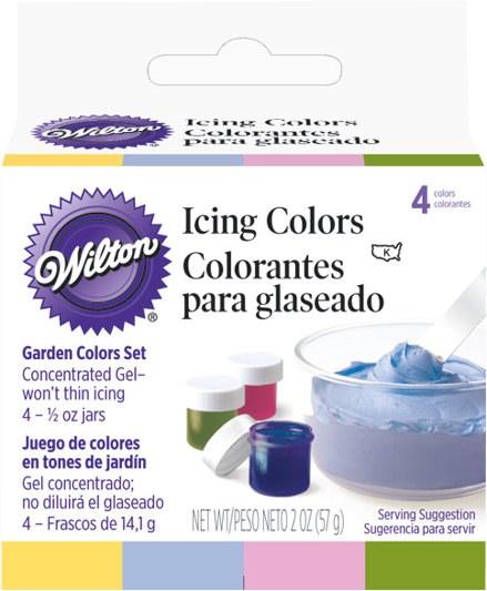 Wilton Garden Tone 4-icing Color Set