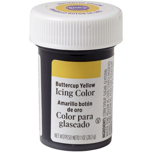 Wilton Icing Color: 1 Oz Buttercup Ye