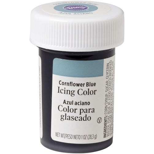 Wilton Icing Color: 1 Oz Cornflower B