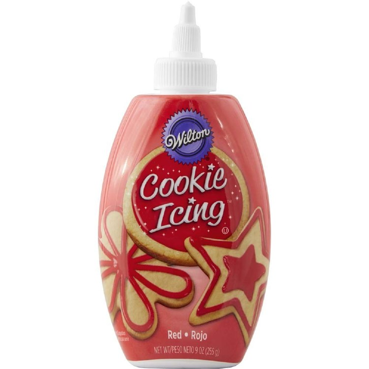 Wilton Cookie Icing Red 9oz
