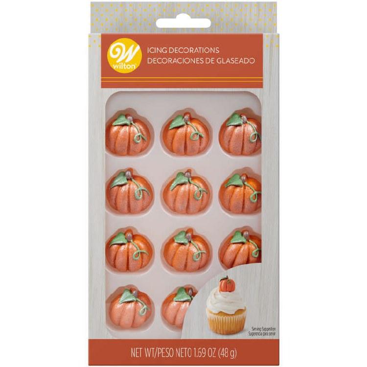 Shimmer Pumpkin Icing Deco