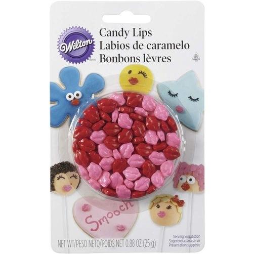 Wilton Wilton Candy Decorations: Lips