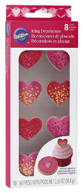 Wilton Royal Bubble Heart Shimmer 8ct