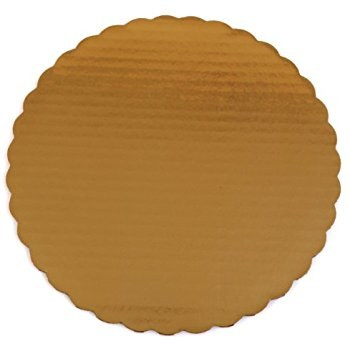 Gold Board 8' Scalloped 6/pkg
