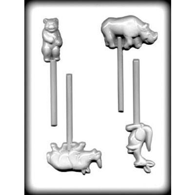CK Product H/c Mold Zoo Animals Lolly