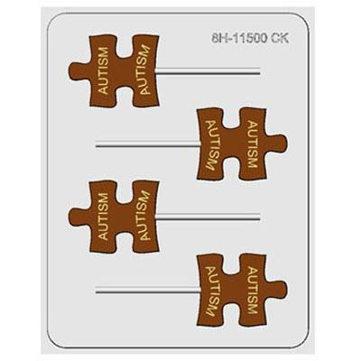 CK Product H/c Mold Puzzle Piece(austism)