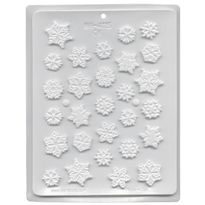 CK Product H/c Mold Assorted Snowflakes