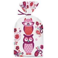 Wilton Party Bags:owl 20/pk