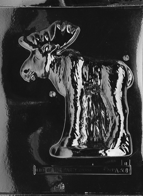 Life of the Party 3d Moose-back (x-large)
