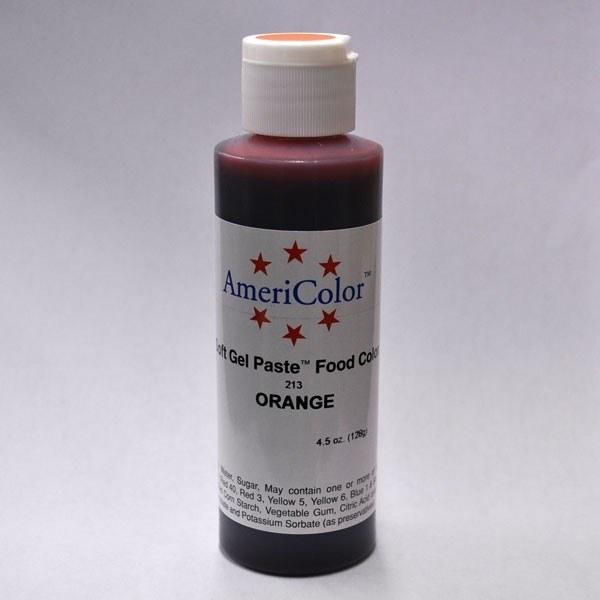 AmeriColor Americol Orange Soft Gel 4.5oz
