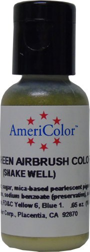 AmeriColor Gold Metallic Sheen 0.65 Oz