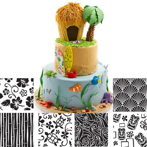 Texture Sheet Set: Hawaiian