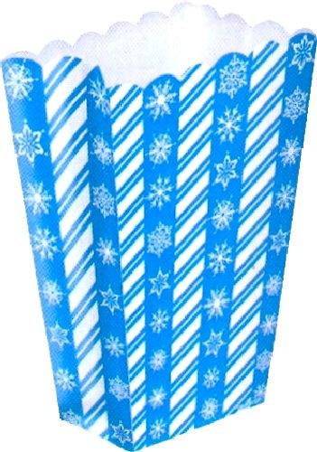 Amscan Blue Snowflake Popcorn/treat B