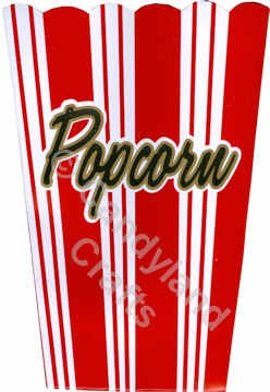 Amscan Small Popcorn Box