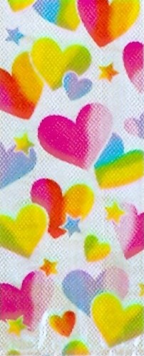 Amscan Party Bags: Sparkle Hearts