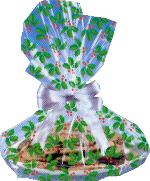 Amscan Holly Cookie Bags