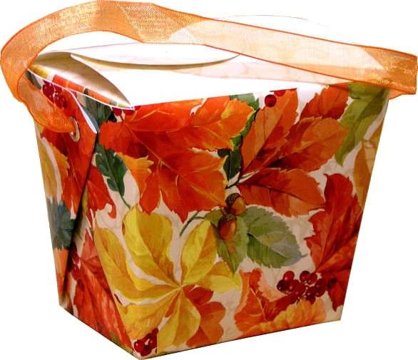 Amscan Box: Elegant Leaves