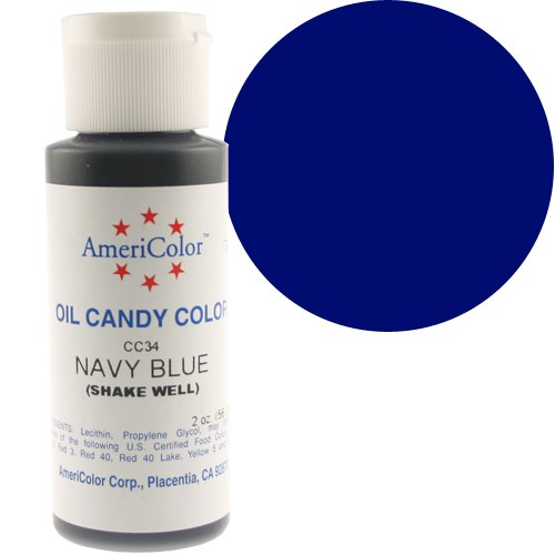 AmeriColor Candy Color: Navy Blue 2 Oz