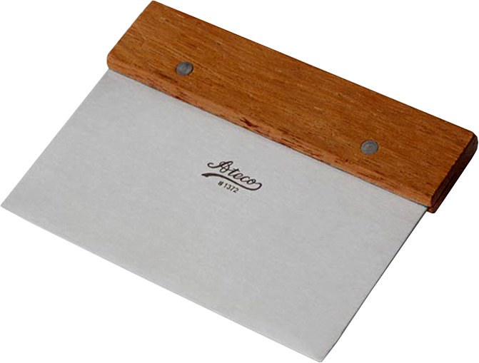 ATECO Stainless Steel Bench Scraper