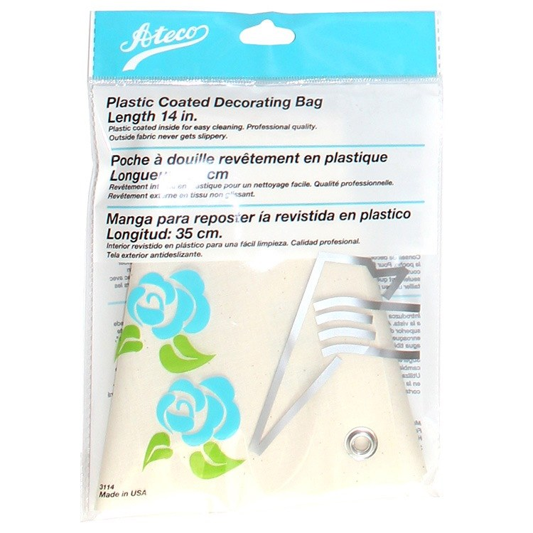 ATECO 14' Plastic Coated Decorating