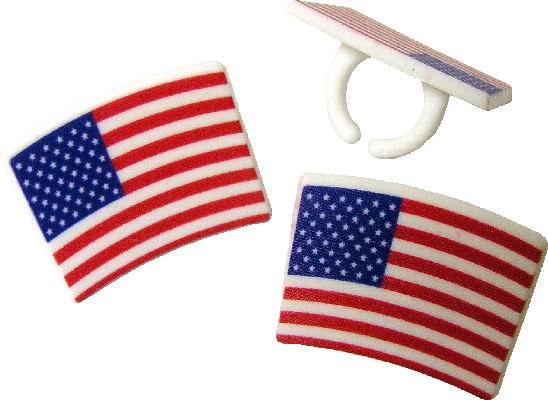 American Flag Rings/6