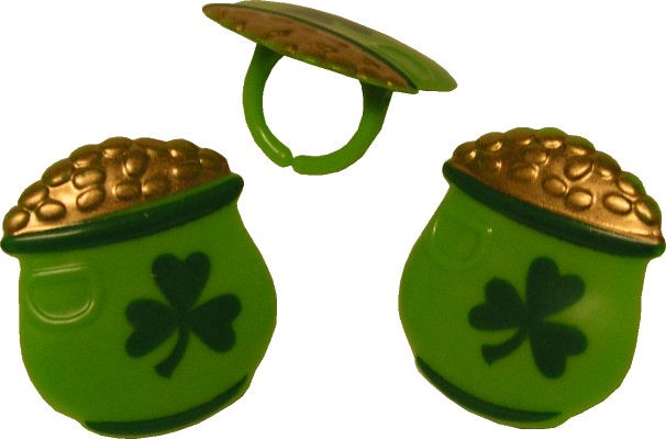Pot Of Gold Rings