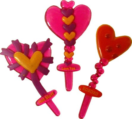 Funky Heart Picks
