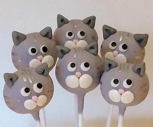 Supply Kit For Kitty Cake Pop