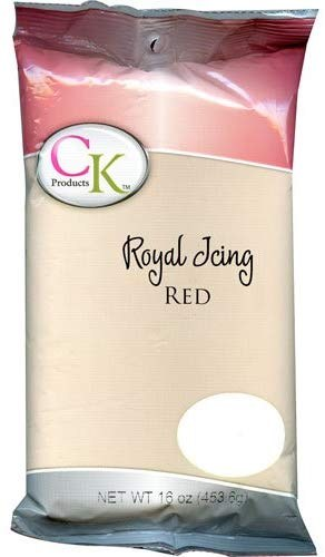 Red Royal Icing
