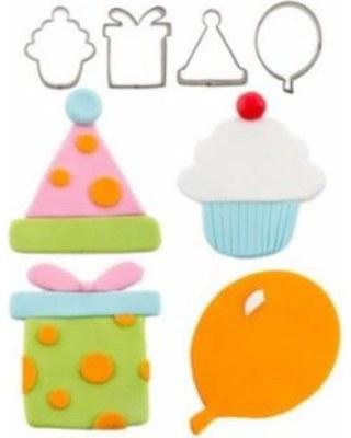 CK Product Cutie Cupcake Cutters Set 4 Pc
