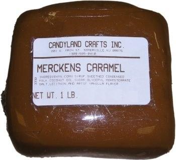 Merckens Merckens Caramel 1 pounds