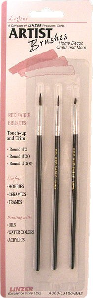 CK Product Artist Brushes 3 Pc. Set Small