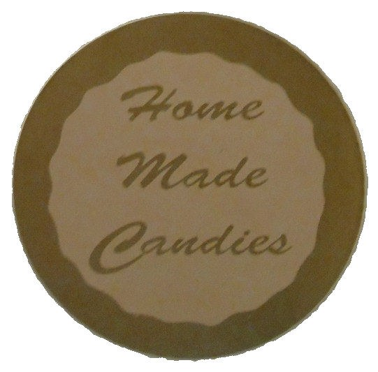 CK Product Homemade Candy Labels