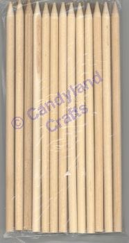 "CK Product Candy Apple Sticks 7""pkg 25"