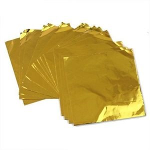 CK Product Gold 4x4 Foils 125/pkg