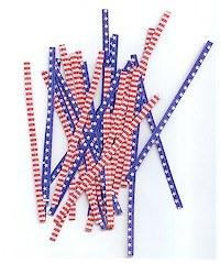 Twist Ties: Stars & Stripes/10