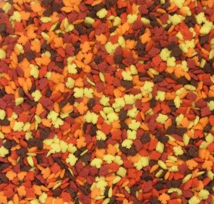 Confetti: Mini Fall Leaves 3 O