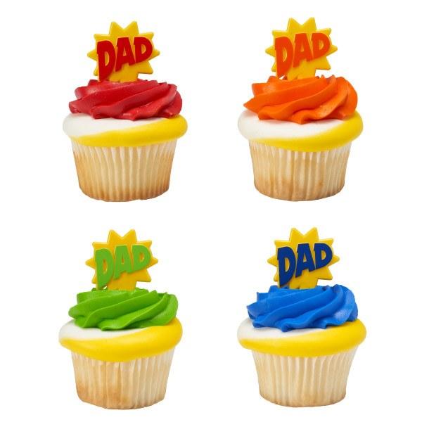 Dad Cupcake Picks 12pk