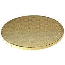 """Whalen 12"""" Gold Round Drum 1/2thick"""